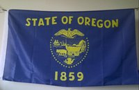 oregon state flag - Oregon State Flag x cm Polyester American US USA Banner