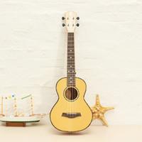 Wholesale Tiger Stripe Bag - Wholesale-Deviser Ukulele UK-LA6 24 Inch Four-string Guitar Tiger Stripes With Bag