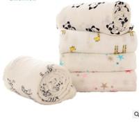 Wholesale Heart Bath Towels - Baby Muslin Swaddles Aden Anais Wraps Blankets Print Newborn Nursery Bedding Cotton Swaddling Kids Bath Towels Parisarc Quilt Robes J422