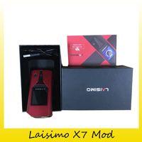 Wholesale Allied Metal - Authentic Laisimo X7 WYVERN 235w TC Box Mod Output Short-Circuit Protection Aluminium Ally+Zinc Ally Mod 100% Genuine 2207048