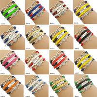 dancer bracelets NZ - Custom-Infinity love dance Bracelet dancer charm Bracelet for womn girls leather warp Bracelet custom Any Themes Drop shipping