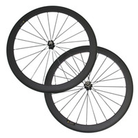 Wholesale Cheap Bike Hubs - In Stock Under $300 50mm Clincher Carbon Wheels 3K Matte 700C Road Bicycle Carbon Racing Wheelset Cheap Novatec Hub 2 days shipping