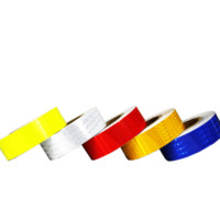 Wholesale Diy Car Tape - 5cm Lattice Highly Reflective Tape Stickers Car Styling Automobile Vehicle Truck Motorcycle Safety Warning Mark Strip DIY Decal