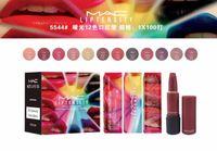 Wholesale Lipstick Colours - new arrival brand LIPSTICK WITH EXTREME UNDENIABLE COLOUR MATTE INTENSITY LIPTENSITY 12 colors 12pcs lot