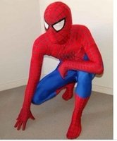 Wholesale Costume Play - Spiderman mascot character plays the costume spider man suit free shipping