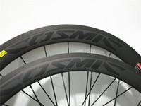ingrosso ruote in carbonio pieno 38 mm-Ruote bici da strada full carbon nero decalcomania 3K UD finitura opaca lucida 38mm 50mm 60mm 88mm marca originale disponibile