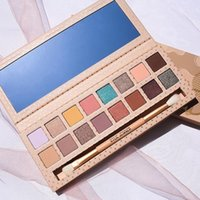 Wholesale Nude Naked - 2017 kylie vacation edition 16 Colors Nude Earth Naked Eyeshadow Palette with Brush Shimmer Matte Waterproof Makeup Eye Shadow Palette