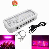 Wholesale Veg Plants - AC85-265V 600W Led Grow Light For Flower Seeds Indoor Full Spectrum 60 LED Plant Grow Light Hydroponics Vegs Flowering Panel Lamp