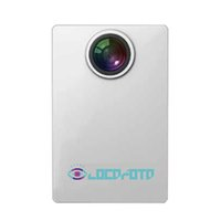 Wholesale Video Cmos Sensor Lens - VR Live Broadcast 720°Camera Fisheye Lens CMOS Sensor Wifi 1000mAh battery 2K Resolution 720P Video Support SD Card Top Quality