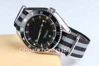 Wholesale Planet Ocean Sapphire - Luxury Brand GMT Automatic Sapphire Glass Mens Watch Planet Ocean Blue Face Co-Axial Transparent Original Clasp Men Watches