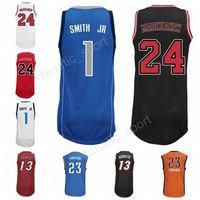449c94cb9f8 Basketball Men Sleeveless New Printed 1 Dennis Smith JR Jersey Men 13 Bam  Adebayo 23 Terrance