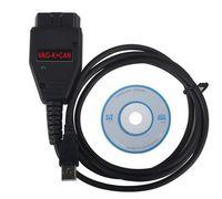 Wholesale Vag Commander Car - Car VAG K+CAN Cable Commander Full 1.4 Diagnostic Scanner Cable Connector Adapter COM for VW Audi Skoda High Quality