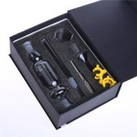 collectionneur de cire achat en gros de-Fumeur Dogo Kit Nectar Collector Kit Nectar Collector Miel Paille 10mm 14.4mm pour Huile et Cire DB-002