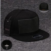 Wholesale Girls Fancy Summer Hats - Fancy 3D snapback cap raised soft silicon square pyramid flat baseball hip hop hat for boys and girls