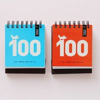 Wholesale Paper Grinding - Wholesale- 100 Day Countdown To The Calendar Desk Calendar One's Deceased Father Grind Learn Plan On This To Lose Weight office Stationery