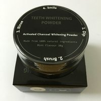 Teeth Whitening Powder organic coffees - 2pcs Natural Organic Activated Charcoal Natural Teeth Whitening Powder Remove Smoke Tea Coffee Yellow Stains Bad Breath Oral Care g pc