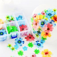 Wholesale cupcake paper flowers buy cheap cupcake paper flowers in wholesale cupcake paper flowers colorful flower cake decor edible glutinous rice paper small flowers beautiful mightylinksfo