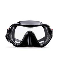 Wholesale Purge Snorkel - masquerade Snorkel Set - Diving Gear - Single Lens Frameless Diving Mask & Snorkel w  Dry Top, Lower Purge Valve, Perfect...