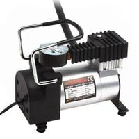 ingrosso car tire pump-Compressore d'aria portatile Heavy Duty 12 V 140PSI / 965kPA Pompa Gonfiatore pneumatico elettrico Strumento di cura auto CEC_011