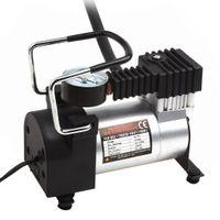 Wholesale 12v car tire pump online - Portable Air Compressor Heavy Duty V PSI kPA Pump Electric Tire Inflator Car Care Tool CEC_011