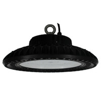 200W UFO LED High Bay Light Fixture Remplacer 1000Watt Metal Halide Warehouse Garage Gym Lights 120 ° Beam Angle 5000K Lumière du jour 100-277V