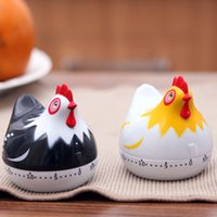 Wholesale White Digital Kitchen Timer - Cartoon White Hen Mini Kitchen Cooking Timer 60 Minutes Cooking Tools Kitchen Timers Kitchen Tools -48
