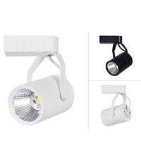 Wholesale Track Mounted Led Spotlights - 5w 7w 9w 12w COB LED track lighting can be adjusted surface mounted downlights AC85-260v Backdrop spotlights CE UL