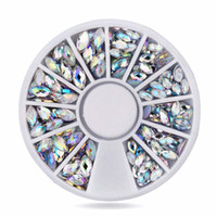 Wholesale Nail Foils Light - 100pcs Lots 3D Glitter Silver Foil Flake Nail Art Acrylic UV Gel Decoration Paillette Nail Gel For Nail Beauty Decoration