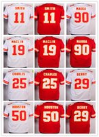Wholesale Kansas Rugby - Men's Kansas City#Jeremy Chiefs 11 Alex Smith 25 Jamaal Charles Jerseys Red White Uniforms 29 Eric Berry 50 Justin Houston 72 Eric Fisher