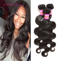 Mink non transformé brésilien corps ondes traits de cheveux humains 4 Bundles brésilien cheveux Body Wave Weave Bulk À la vente Cheap Brazilian Hair Wefts
