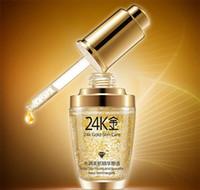 crème de jour or achat en gros de-BIOAQUA 24K Gold Crème de jour pour le visage Hydrating Essence Femme Visage Soins de la peau 30ml dhl ship