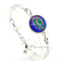 florida schmuck großhandel-2017 Fashion BraceletBangle Universität von Florida NACC Universität Team Sport Charms Armband für Frauen Fan Schmuck SP023