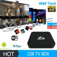 New Arrival Android 7.1 TV Box Z28 RK3328 Quad Core KD17.1 Chargé HDMI 2.0 USB 3.0 4K TV BXOES
