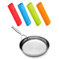 Wholesale Unique Knobs - Saucepan Handle Holder Sleeve Slip Cover Grip Cookware Parts Cookware Parts Unique Kitchen Silicone Pot Pan Handle
