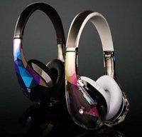 Wholesale Diamond Mounts - Diamond tears, wearing protective ear headphones head-mounted drive-by-wire the bass high-fidelity headphones