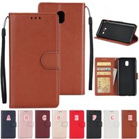 Wholesale a3 photo - Korea Strap Wallet Leather Case Pouch For Samsung Galaxy S8 S9 PLUS S6 EDGE S7 S5 J3 J5 Prime A3 A5 A7 J7 2017 Leechee Stand Photo Card Skin