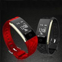 Wholesale Monitor Dynamics - S2 dynamic heart rate monitoring sleep movement step step Bluetooth wear reminder smart bracelet phone information reminder