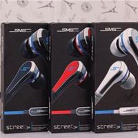 iphone oreille couleur écouteur achat en gros de-SMS Audio Street mini 50 Cent Ecouteurs Ecouteurs In-Ear Casque Ecouteur avec micro et bouton Muet Ecouteur 3 couleurs