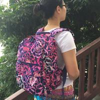 ingrosso zaini preppy per il college-Zaino per laptop Campus School Bag Travel College 100% reale