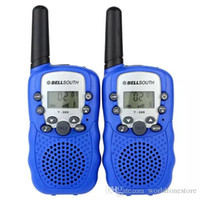 Brand new Bellsouth Walkie Talkie Reisen T-388 0.5W UHF Auto Multi Kanäle 2-Wege Radios Interphone