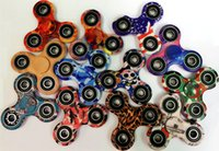 Wholesale Music Boxes For Gift - Colorful Hand Spinner Wholesale Decompression Toy camouflage Fingers Fidget Spiners Kids Gift Toys For Adults with Retail Box