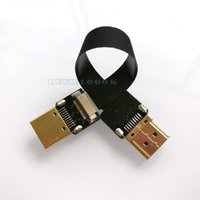 Wholesale 10cm Super Soft HDMI to HDMI Cable Standard Interface For FPV