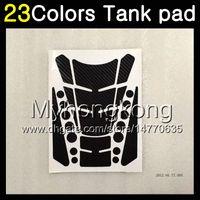 Wholesale Kawasaki Er6f - 23Colors 3D Carbon Fiber Gas Tank Pad Protector For KAWASAKI NINJA 650R ER-6F 12 13 14 ER 6F 12-14 ER6F 2012 2013 2014 3D Tank Cap Sticker