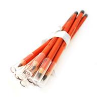 crayons à bas prix achat en gros de-En gros- 100pcs / lot Parti Reine Sourcils Crayon Imperméable à l'eau longue durée Professionnel Naturellement En Gros le plus bas prix Livraison gratuite