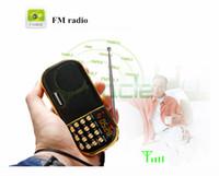 Wholesale Internet Radio Free Shipping - Wholesale-newsmy L58 portable radio, old man mini audio card box portable music player radio mini walkman free shipping