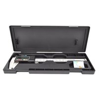 Wholesale Vernier Caliper Box - caliper lcd Digital Vernier Caliper 150mm 6inch With Box Stainless Steel Electronic Vernier Calipers LCD Paquimetro Micrometer E3371 T150.5