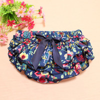 Everweekend Girls Bow Floral Ruffles PP Брюки Vintage Корея Западная детская одежда Lovely Baby Fashion Clothing