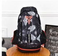 Wholesale canvas backpack for teenagers - 2 Fashion KOBE Men Backpacks Basketball Bag Sport Backpack School Bag For Teenager Outdoor Backpack Marque Mochila