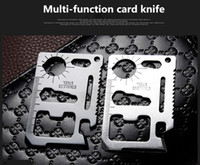 Wholesale swiss army knives for sale - Group buy New EDC in Swiss Army Knife Stainless Multi function Camping Tool Card Knife Outdoor Knife Bottle Opener Propotabel
