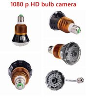 UK cctv ir lights - WIFI hidden Bulb dvr Camera HD 1080P P2P IP cam security CCTV Camera T77 IR light In stock